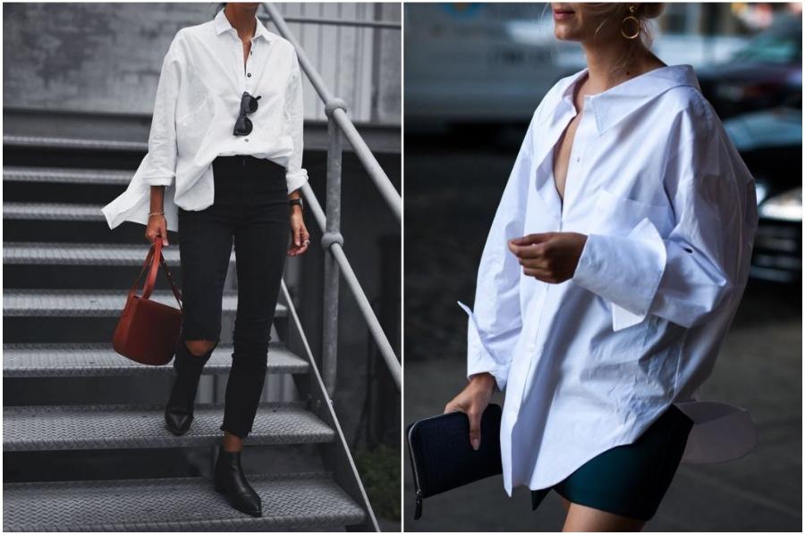 Basic Button Down   9 Items From Men's Wardrobe Women Should Totally Wear   Her Beauty