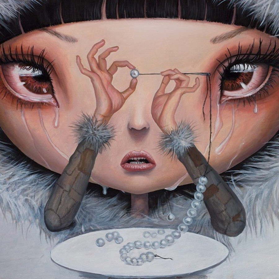 Sadness Is My Single Fortune | Surreal Paintings Of Romanian Artist You'll Never Forget | Her Beauty