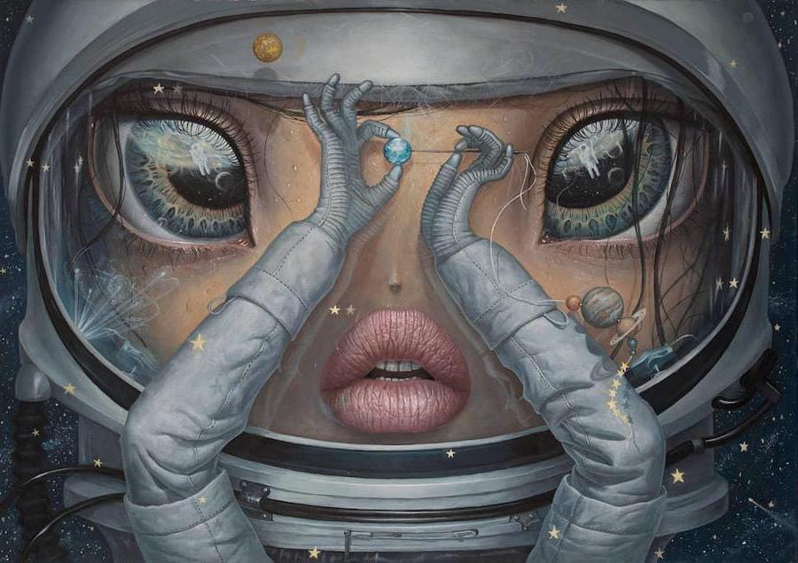 Planets | Surreal Paintings Of Romanian Artist You'll Never Forget | Her Beauty
