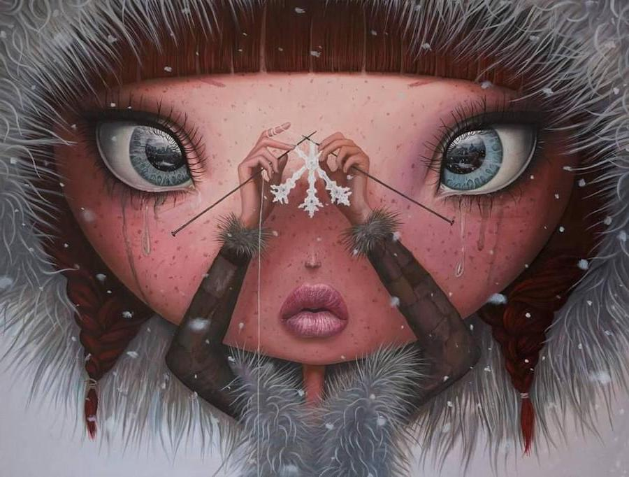 You'll Never Melt Again On Me | Surreal Paintings Of Romanian Artist You'll Never Forget | Her Beauty
