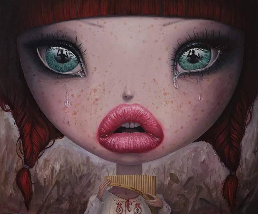 Intensity | Surreal Paintings Of Romanian Artist You'll Never Forget | Her Beauty