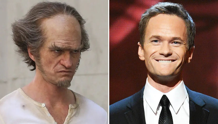 Count Olaf – Neil Patrick Harris | 8 Villains Who Look Incredibly Handsome In Real Life | Her Beauty