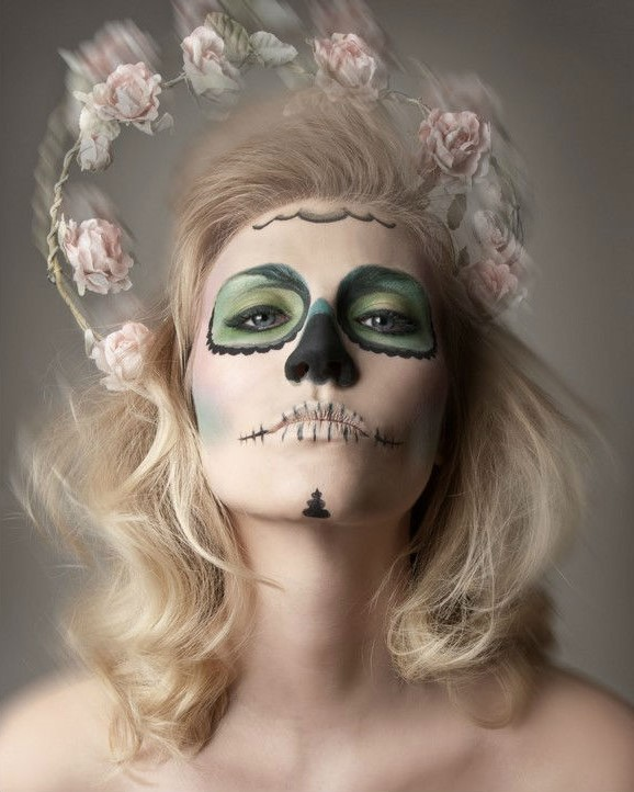 Skeleton | 10 Day of the Dead Makeup Ideas | Her Beauty