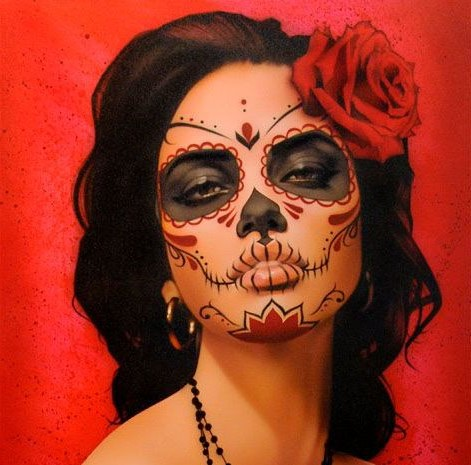 #10 | 10 Day of the Dead Makeup Ideas | Her Beauty