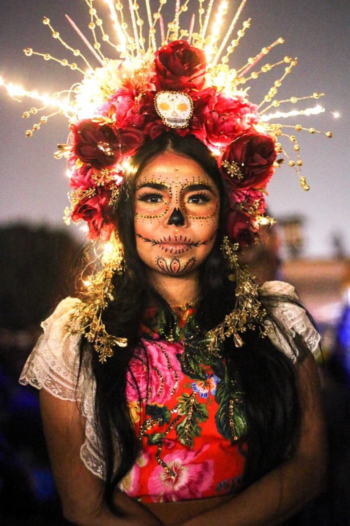 Crown| 10 Day of the Dead Makeup Ideas | Her Beauty