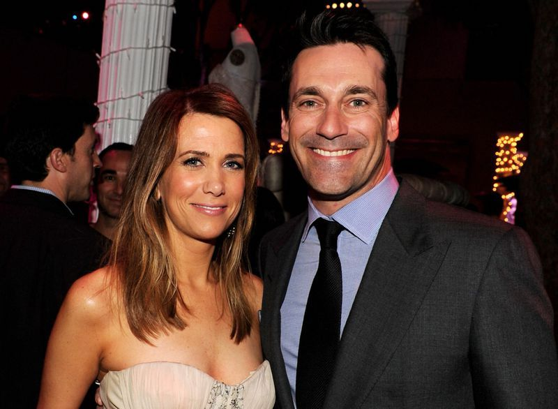 Jon Hamm and Kristen Wiig | 9 Best Ever Acting Duos That Played Lovers | Her Beauty