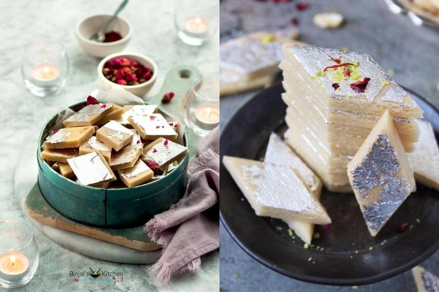 Kaju Katli | 12 Best Indian Desserts | Her Beauty