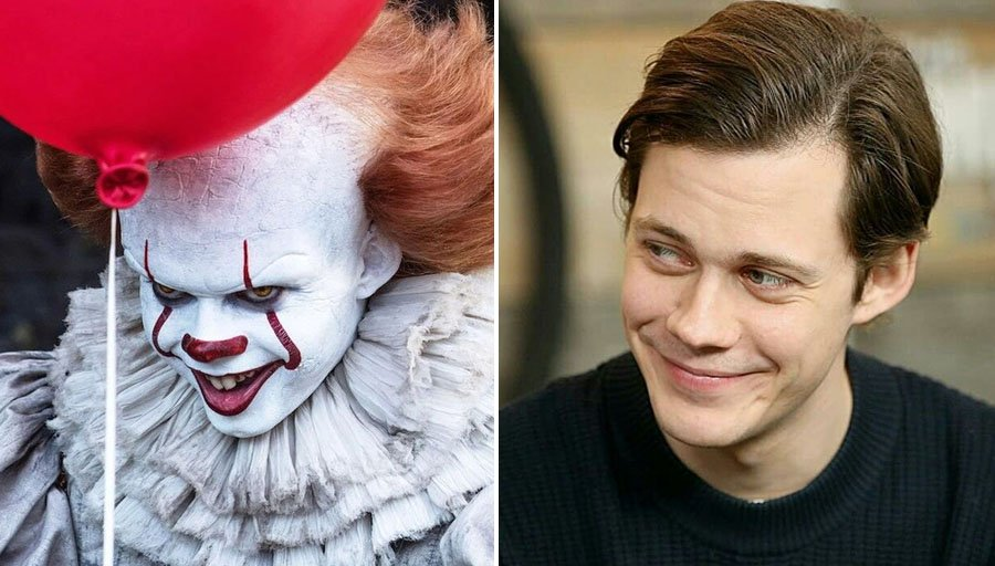 Pennywise – Bill Skarsgård | 8 Villains Who Look Incredibly Handsome In Real Life | Her Beauty