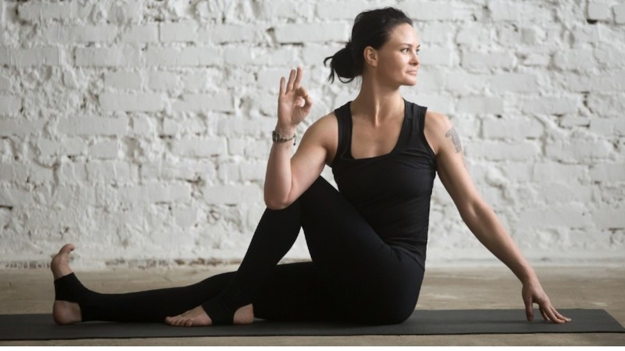 Seated Spinal Twist | 9 Stretches To Ease Lower Back Pain | Her Beauty
