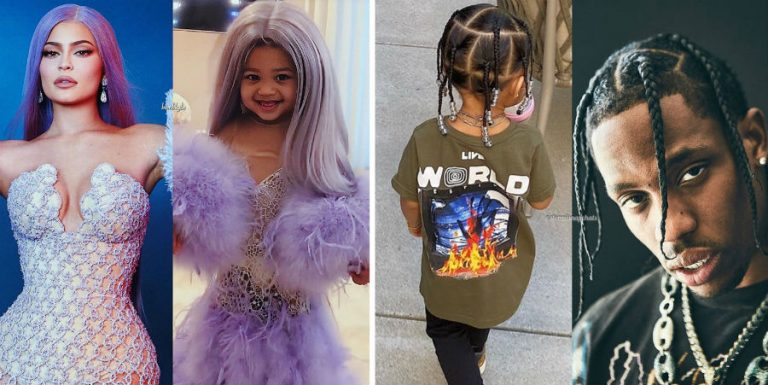 Stormi Webster Dressed As Mom Kylie and Dad Travis is Totally Adorable | Her Beauty