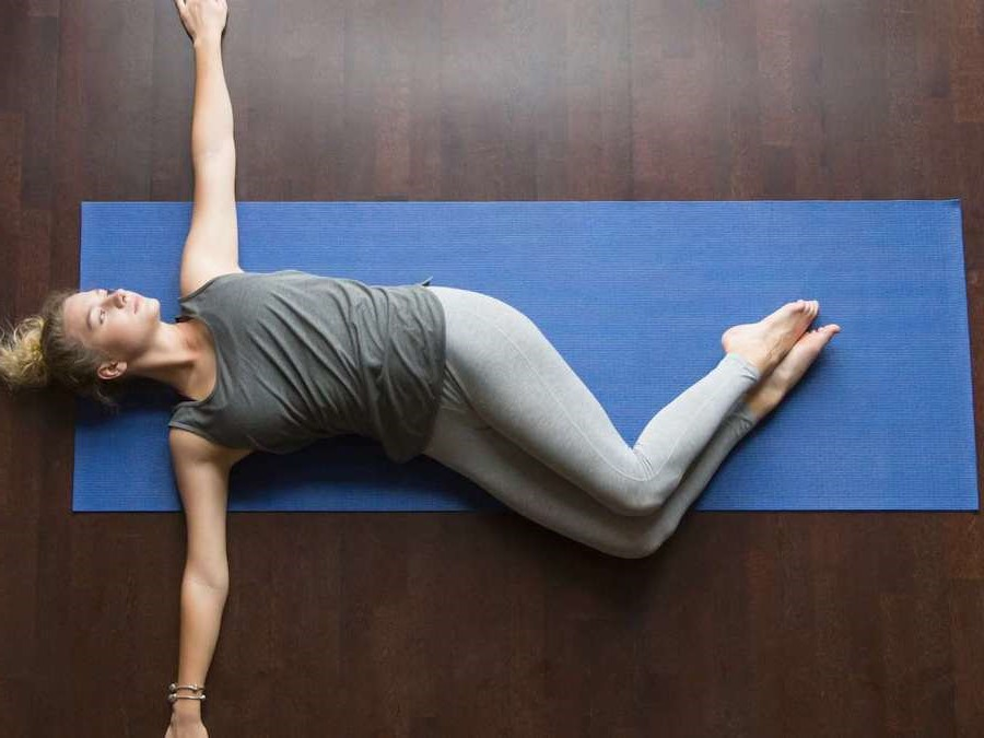 Trunk Rotation Stretch | 9 Stretches To Ease Lower Back Pain | Her Beauty