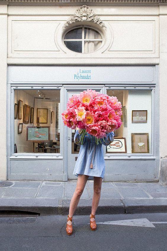 #11 | Сама женственность: девушки с цветами вместо лица в серии фотографий Карлы Коулсон | Her Beauty
