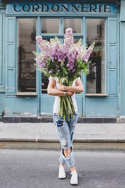 #13 | Сама женственность: девушки с цветами вместо лица в серии фотографий Карлы Коулсон | Her Beauty