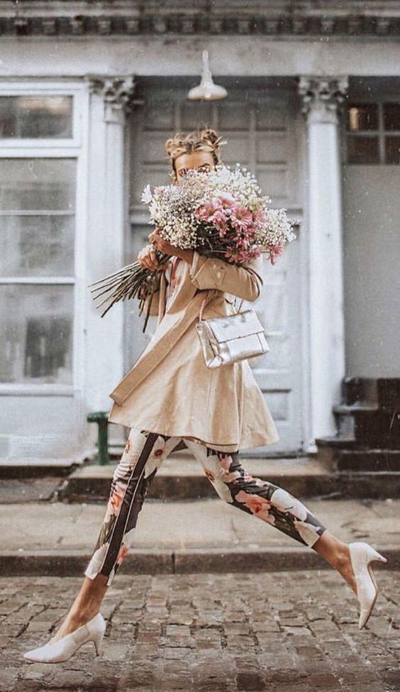 #15 | Сама женственность: девушки с цветами вместо лица в серии фотографий Карлы Коулсон | Her Beauty