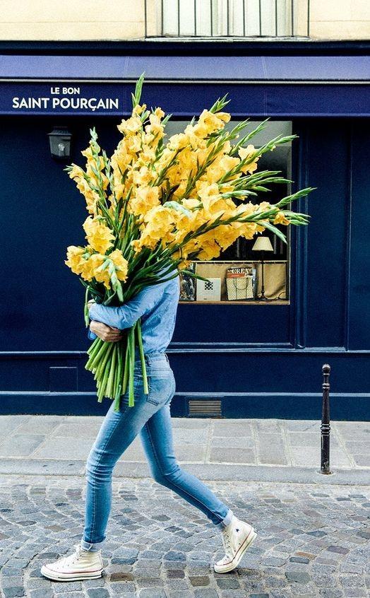 #8 | Сама женственность: девушки с цветами вместо лица в серии фотографий Карлы Коулсон | Her Beauty