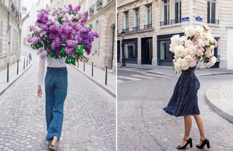 Сама женственность: девушки с цветами вместо лица в серии фотографий Карлы Коулсон | Her Beauty