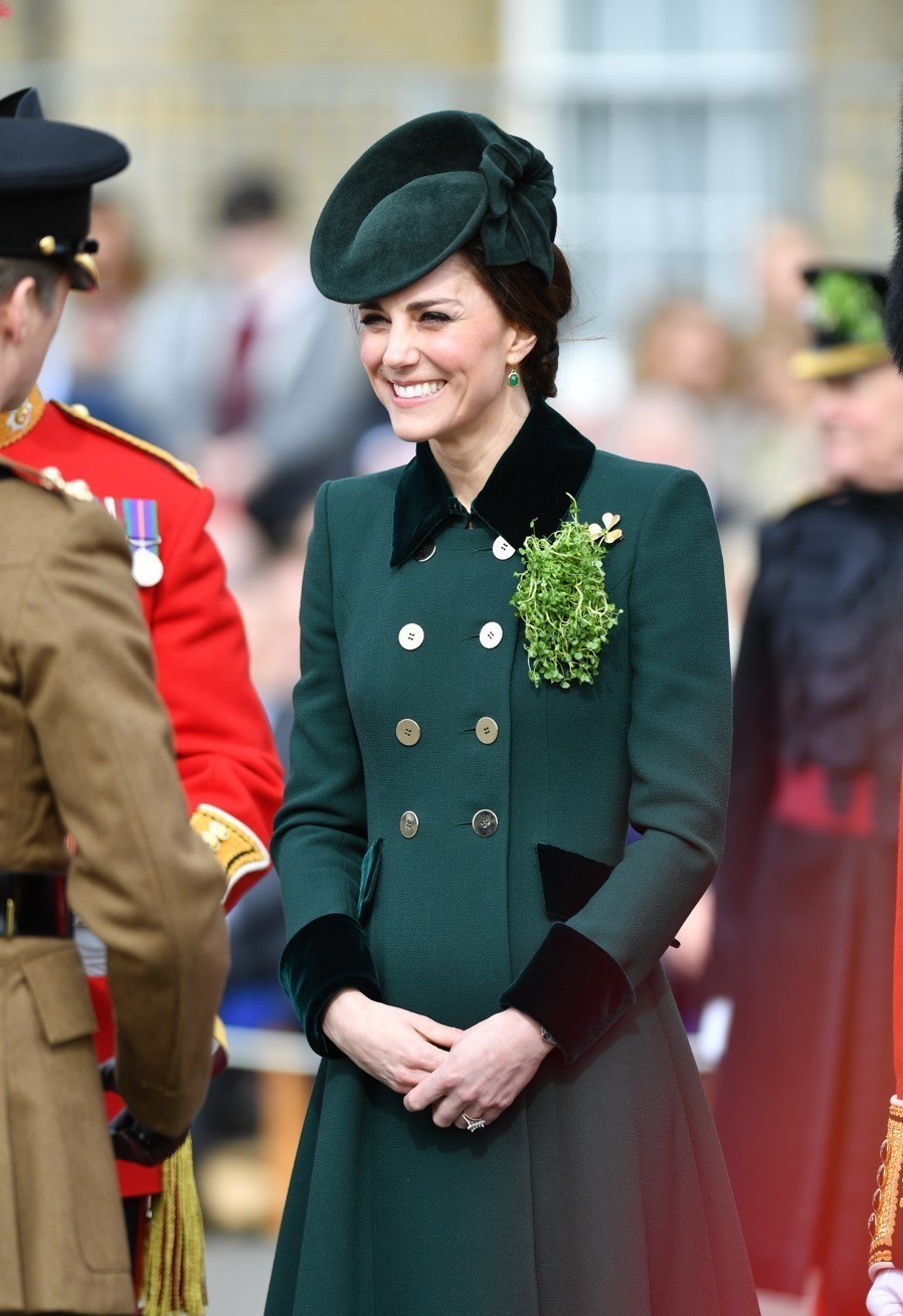 Fur-collared coat by Catherine Walke | Kate Middleton Style From Young Till Now | HerBeauty