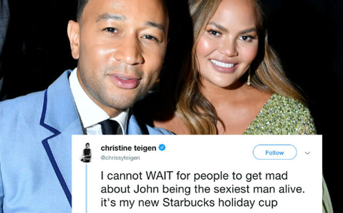 John Legend Is Named 2019's Sexiest Man Alive And His Wife Chrissy Teigen Becomes His Biggest Troll | Her Beauty
