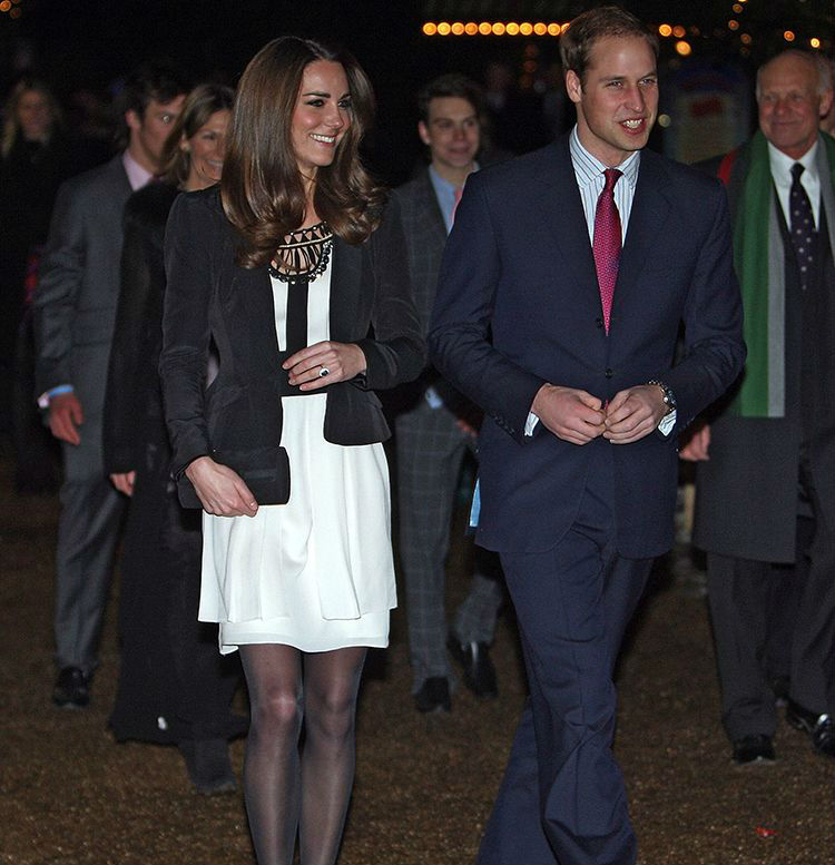 Kate's debut as a royal fiance | Kate Middleton Style From Young Till Now | HerBeauty