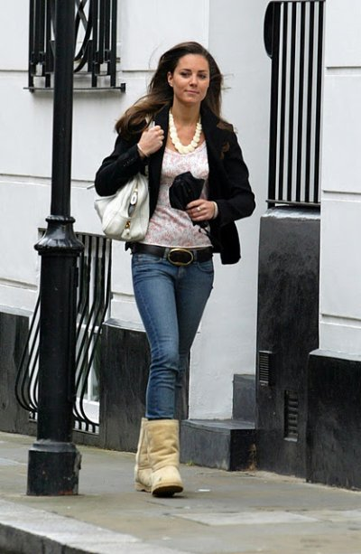 Ugg boots | Kate Middleton Style From Young Till Now | HerBeauty
