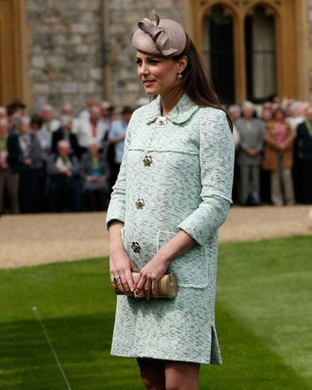 Beginning with the pregnancy with Prince George  | Kate Middleton Style From Young Till Now | HerBeauty
