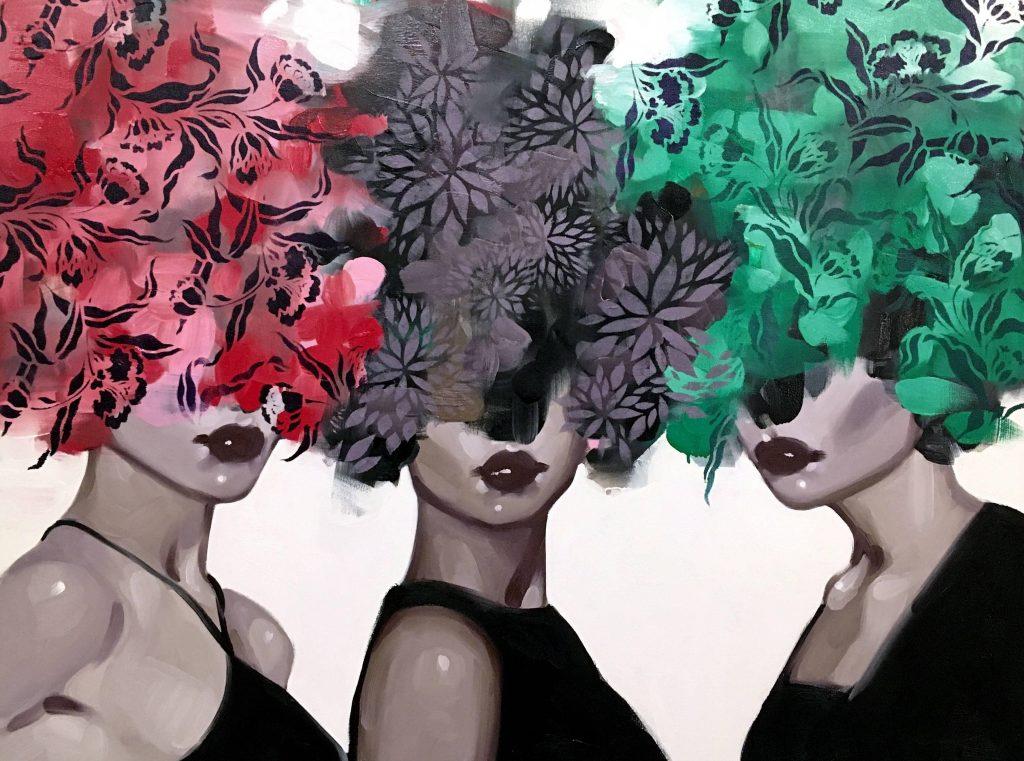 «Секреты, которые мы храним» |   Призрачные девушки-цветы художницы из Нью-Йорка Анны Кинкейд | Her Beauty