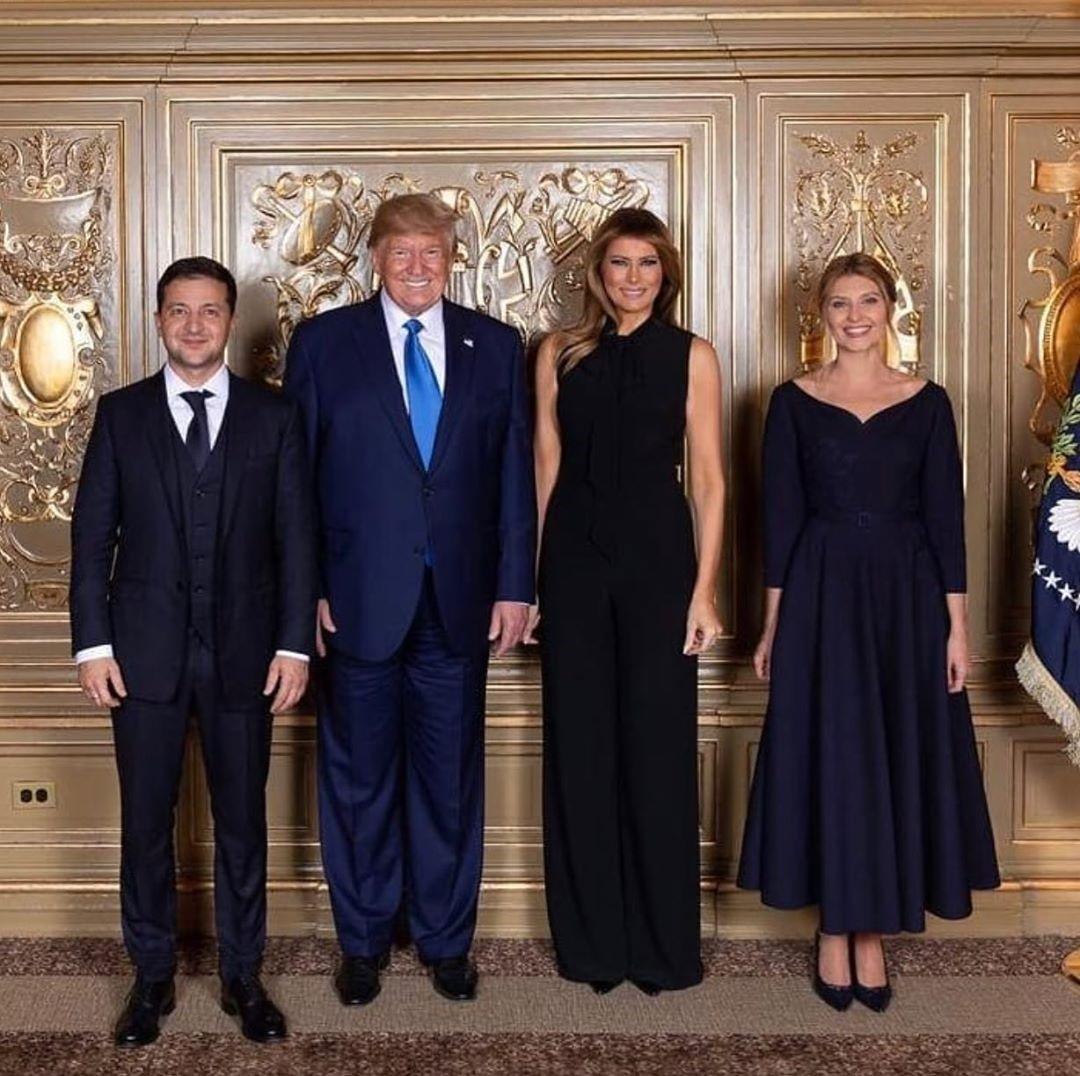 Встреча с Дональдом и Меланией Трамп | Стиль Елены Зеленской: 8 модных луков первой леди Украины | Her Beauty