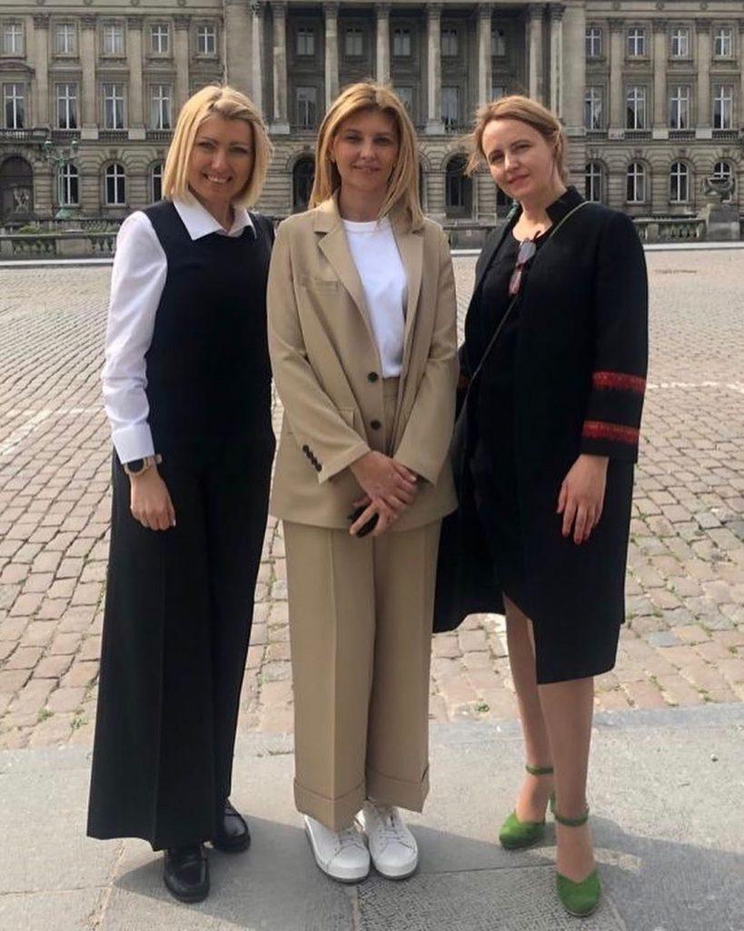 Официальный визит в Брюссель | Стиль Елены Зеленской: 8 модных луков первой леди Украины | Her Beauty