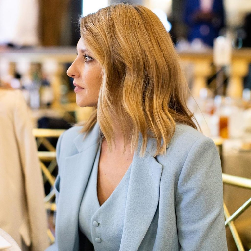 Стильный костюм-тройка | Стиль Елены Зеленской: 8 модных луков первой леди Украины | Her Beauty