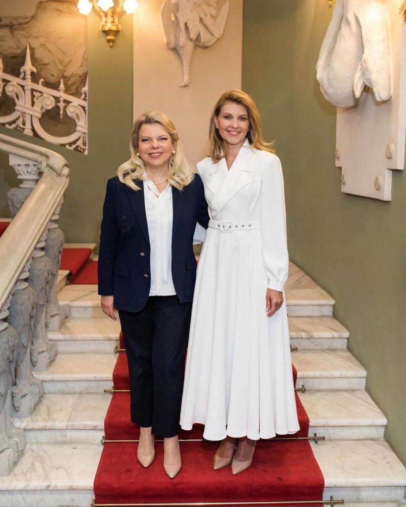 Израиль  платье | Стиль Елены Зеленской: 8 модных луков первой леди Украины | Her Beauty