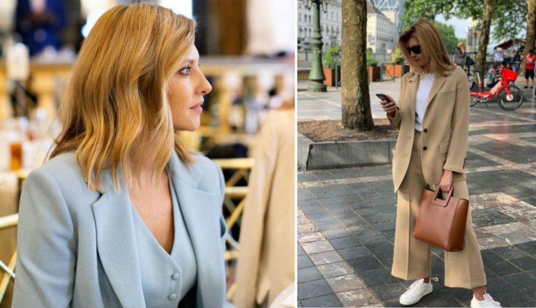 Стиль Елены Зеленской: 8 модных луков первой леди Украины | Her Beauty