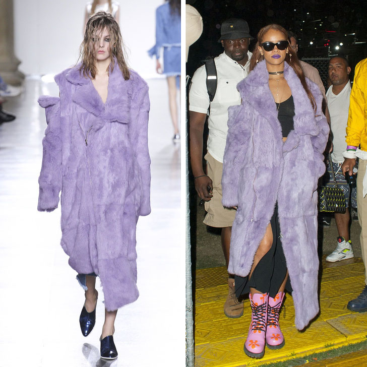 Rihanna – Marques Almeida | Who Wore It Best: 12 Dresses Celebs Took Right Off The Catwalk | Her Beauty