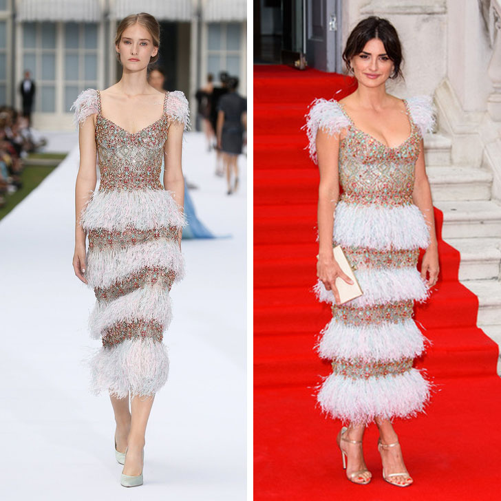 Penelope Cruz – Ralph & Russo | Who Wore It Best: 12 Dresses Celebs Took Right Off The Catwalk | Her Beauty