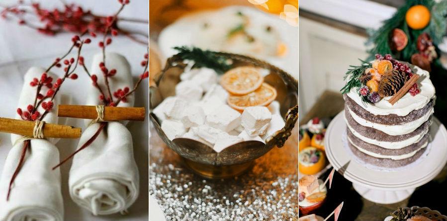 Корица и цитрусовые попурри | 8 крутых идей для зимней свадьбы | Her Beauty