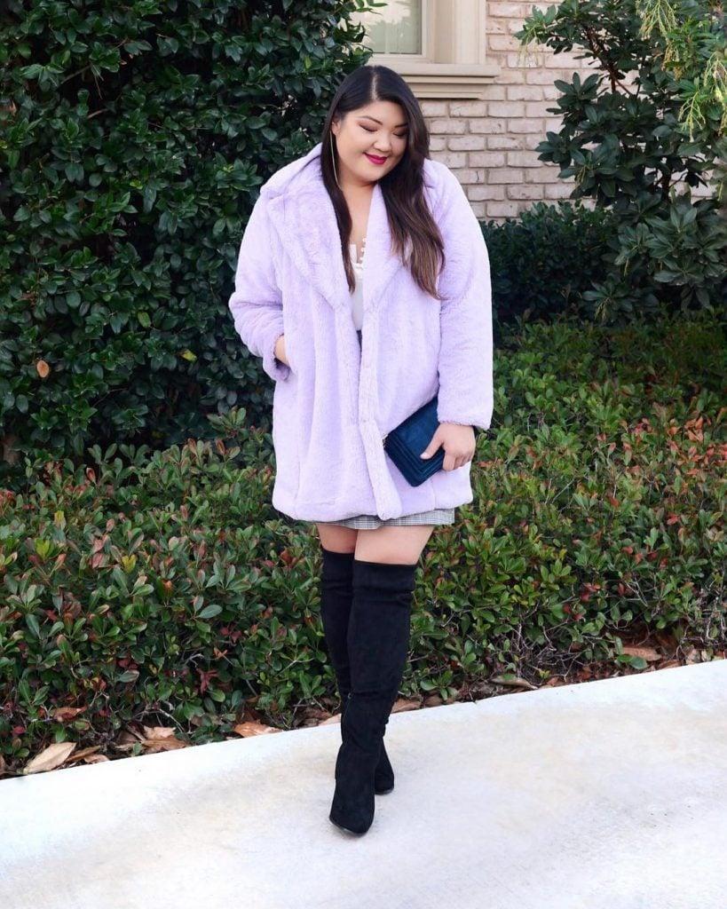 #7   9Best Plus Size Winter Outfit Ideas   HerBeauty
