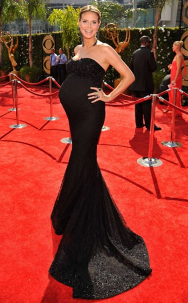 Heidi Klum | 10 Celebs Who Looked Flawless While Pregnant | Her Beauty