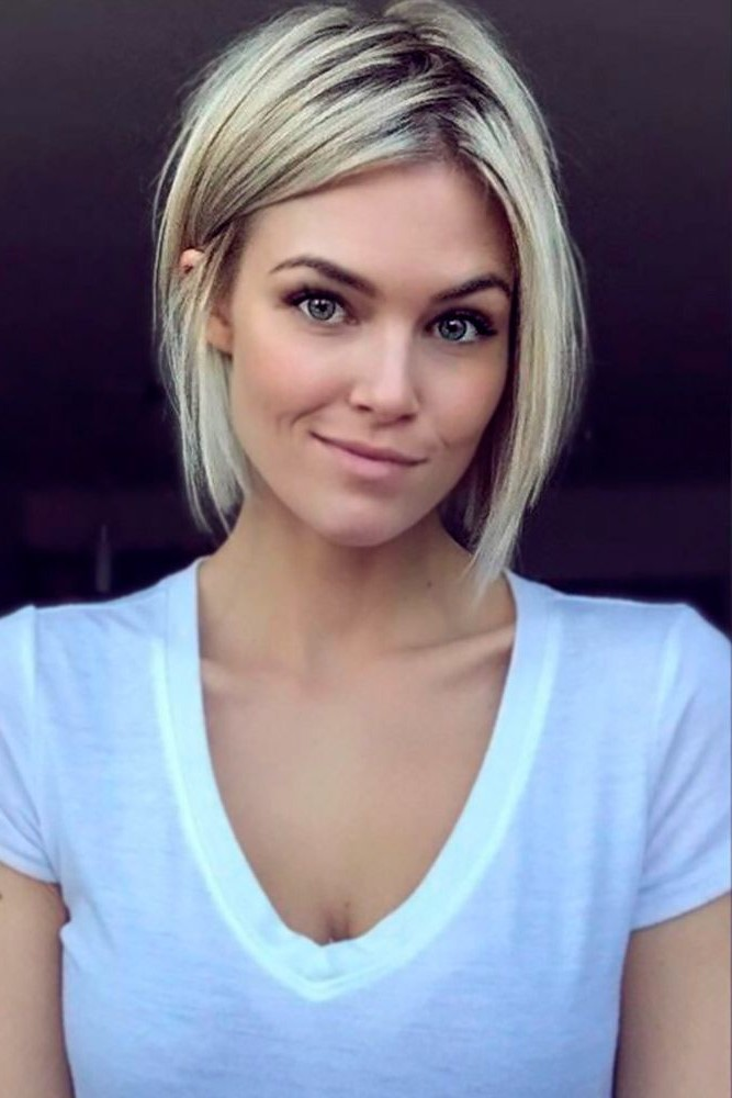 Short haircuts for square faces | Flattering Short Haircuts for Your Face Shape | Her Beauty