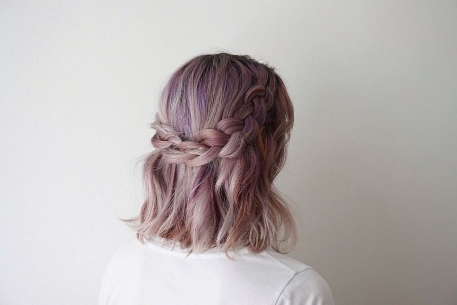 How To French Braid Short Hair | Everything You Need To Know About French Braids | Her Beauty