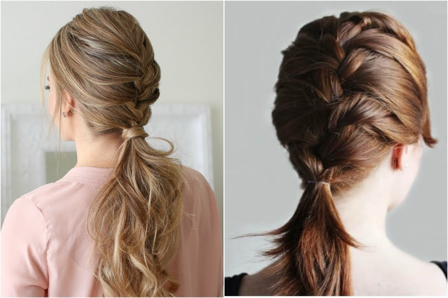 French Braid Ponytail | Everything You Need To Know About French Braids | Her Beauty