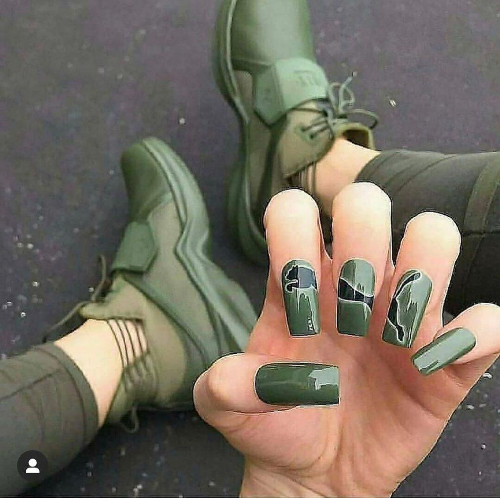 #1 | Luxury Sneakers Nail Art – Now That's A Novel Idea | HerBeauty