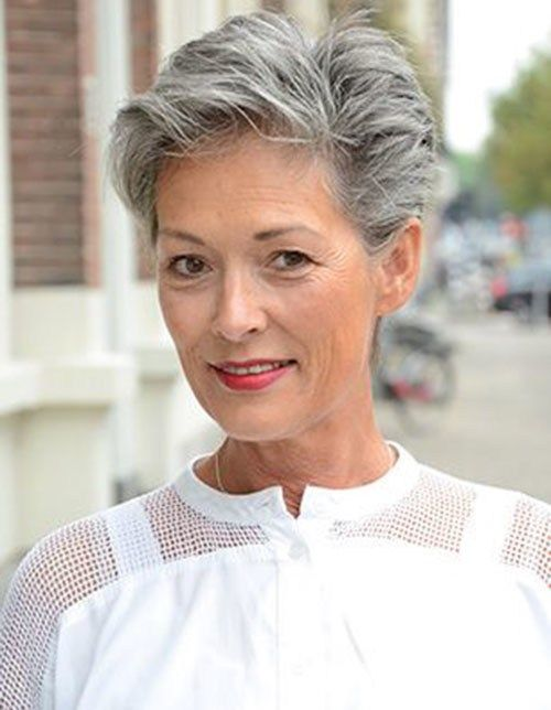 7 Short Haircuts for Older Women #3 | Her Beauty