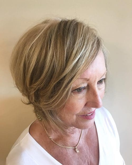 7 Short Haircuts for Older Women #7 | Her Beauty