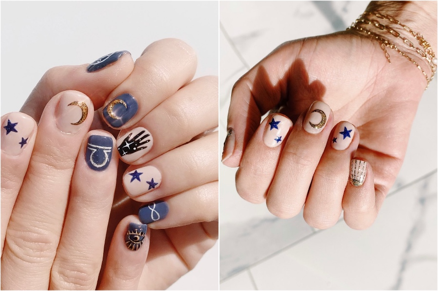 Funky Nail Designs #2 | 34 Best Winter Nail Design Ideas | Her Beauty