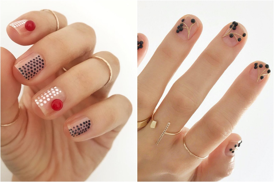 Funky Nail Designs #4 | 34 Best Winter Nail Design Ideas | Her Beauty