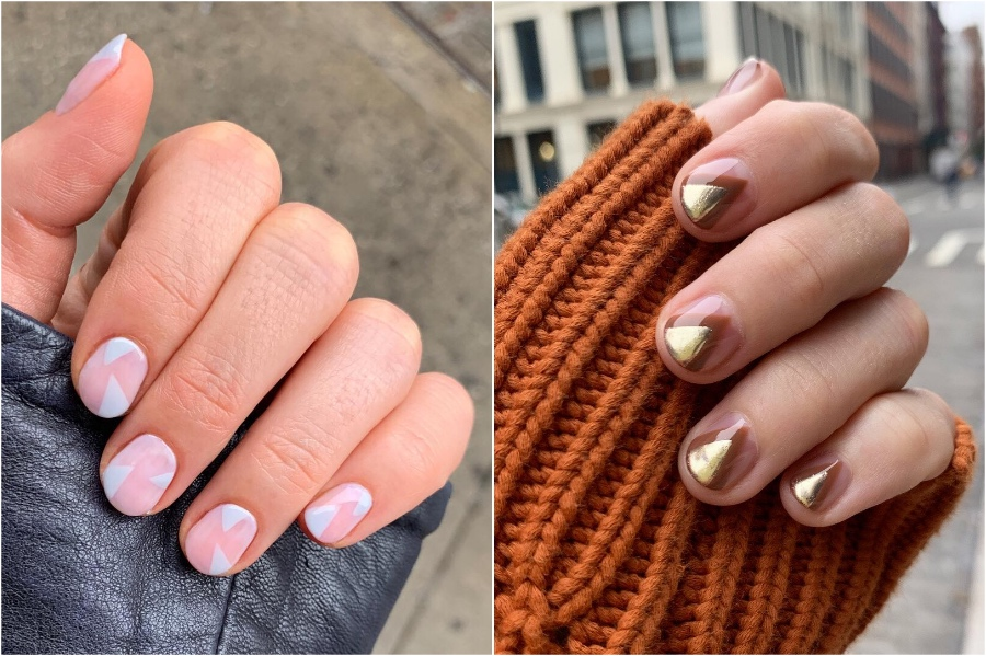 Simple Nail Designs #5 | 34 Best Winter Nail Design Ideas | Her Beauty
