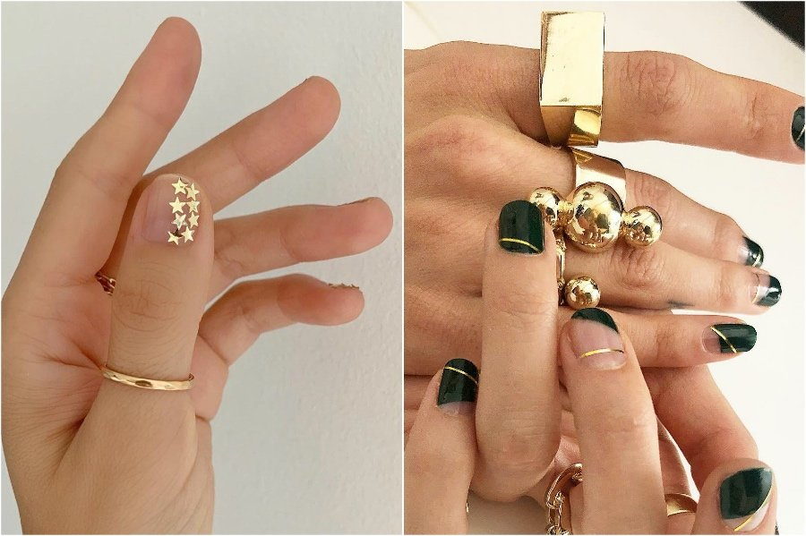 Simple Nail Designs #7 | 34 Best Winter Nail Design Ideas | Her Beauty
