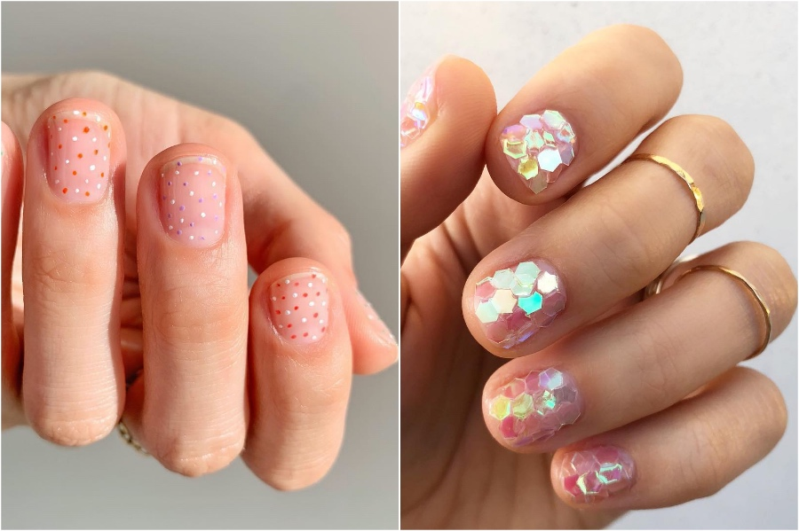 Simple Nail Designs #8 | 34 Best Winter Nail Design Ideas | Her Beauty
