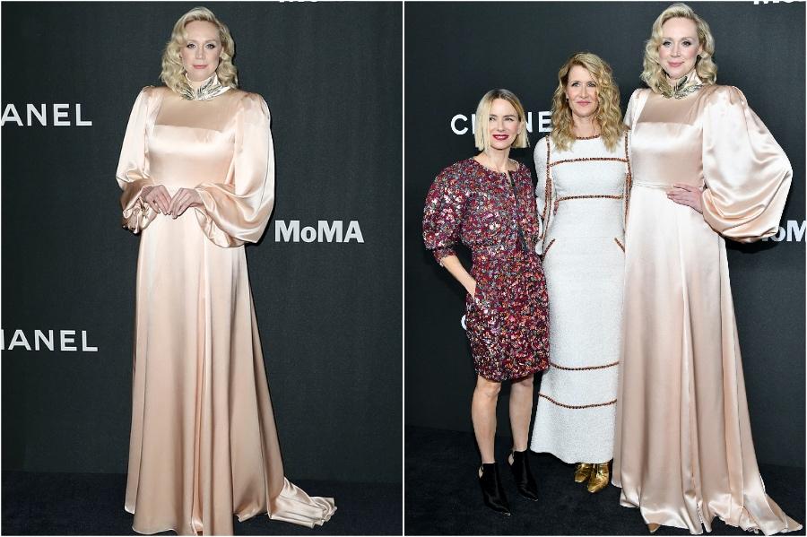 Gwendoline Christie wows at Star Wars London premiere