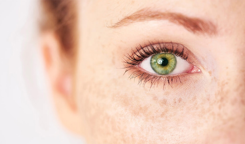 No one really has green eyes. | The Truth About Green Eyes | Her Beauty