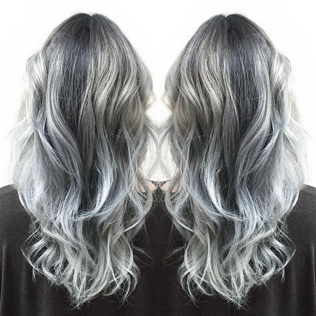 10 Best Gray Hair Color Ideas | Her Beauty